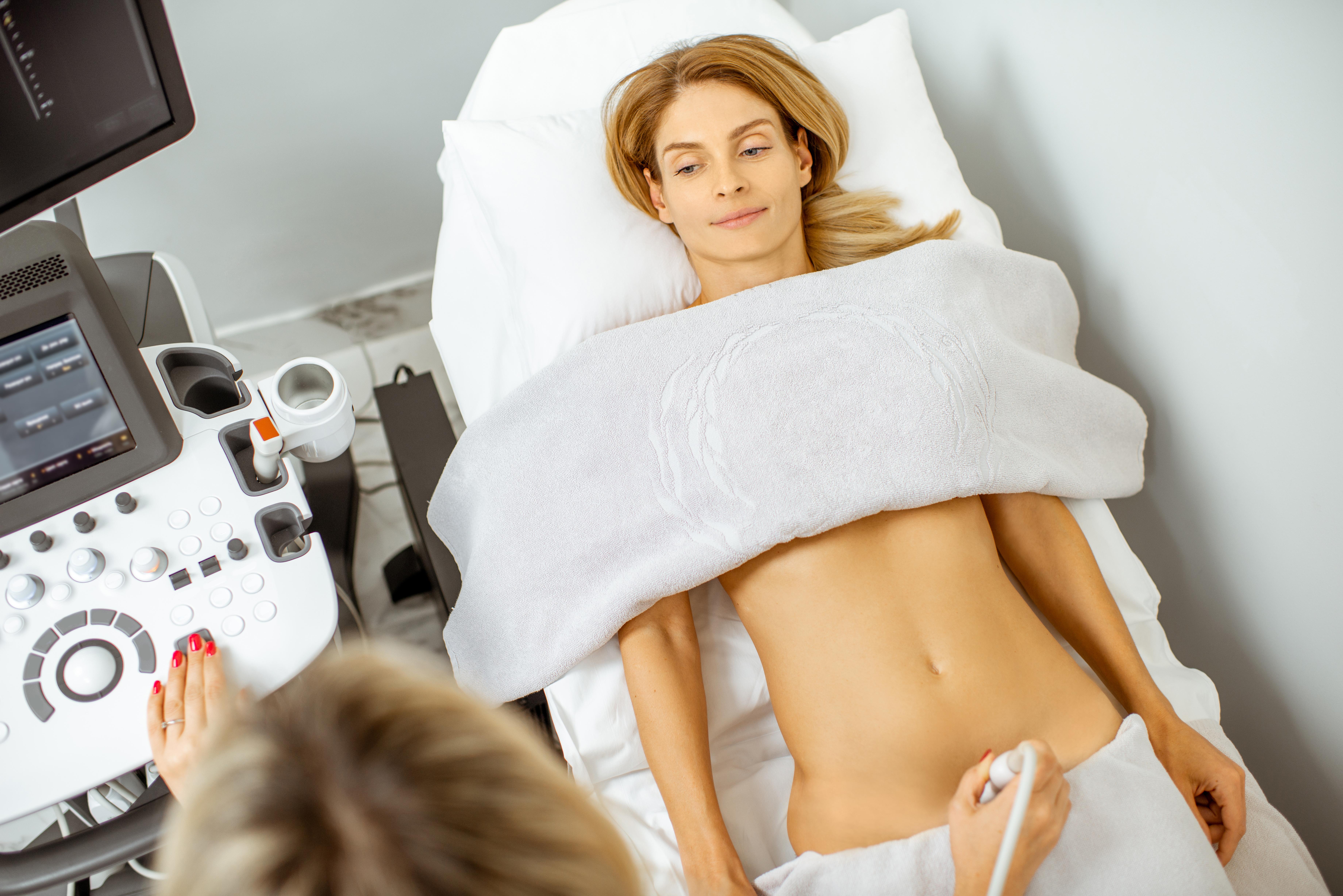 Pelvic ultrasound